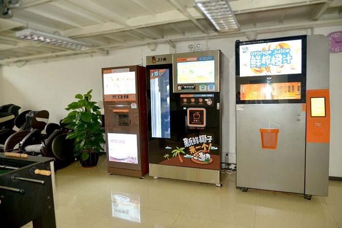 技诺智能商用现磨咖啡机厂家定制服务